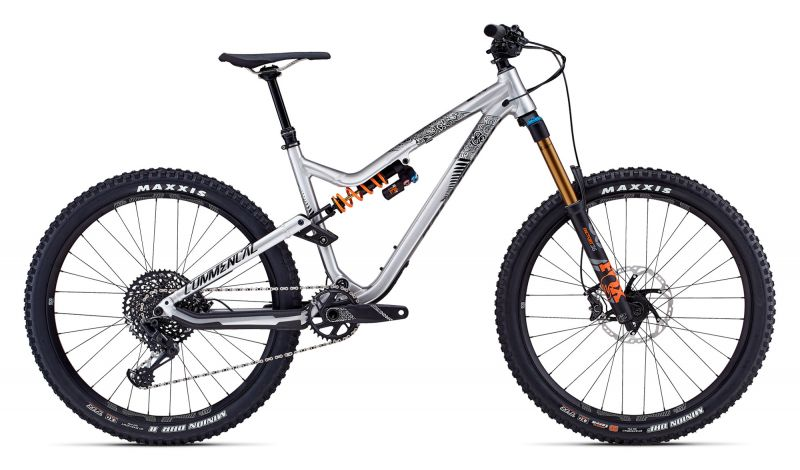 Commencal Meta AM V4.2 New Zealand 650B brushed 2018